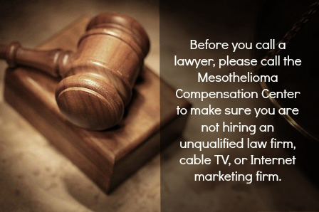 Mesothelioma Compensation Center Warning